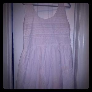 White Summer Dress - Old Navy